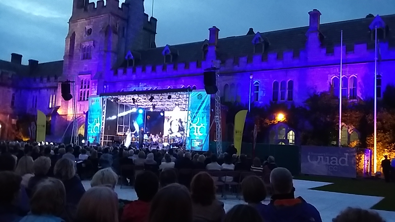 Summer Evening at the Quad at UCC 2016