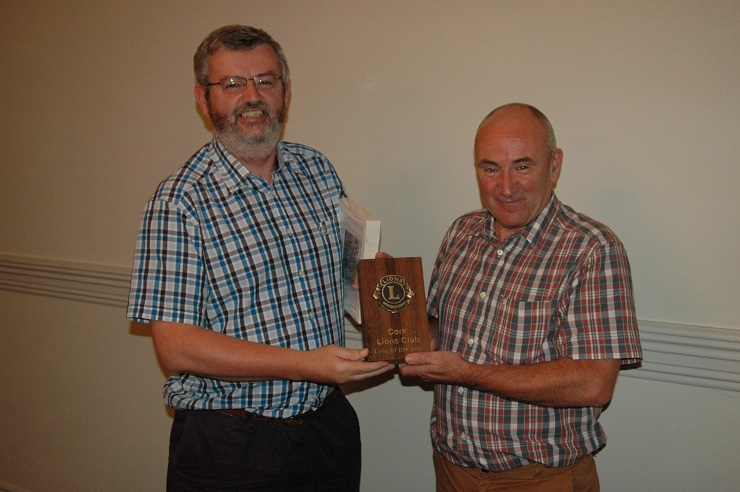 Cork Lions Club Member of the year
